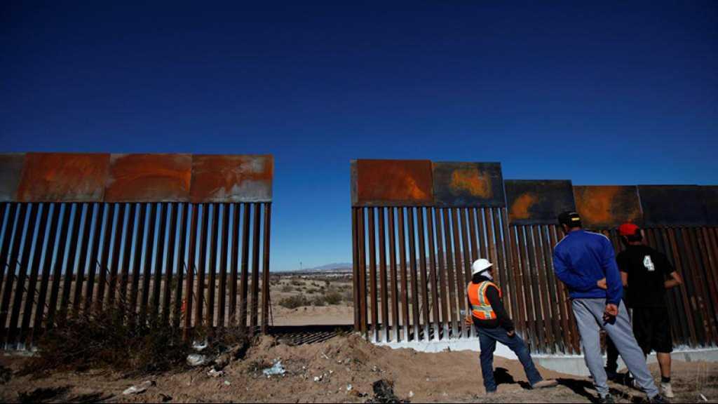 Le Pentagone débloque 3,6 milliards de dollars pour le mur de Trump