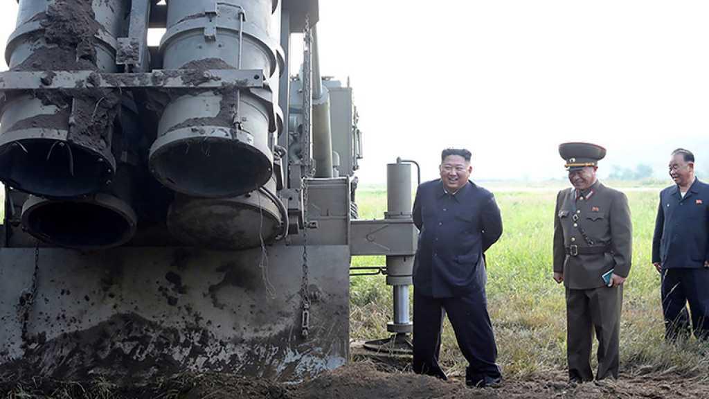 La Corée du Nord annonce avoir encore testé un «lanceur de missiles multiple»