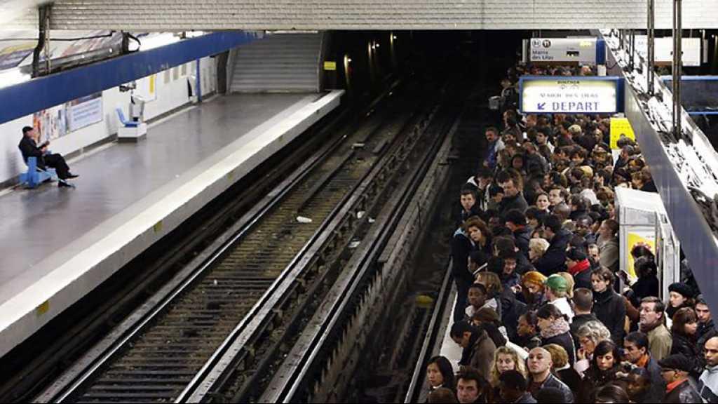Paris et sa région perturbées par une grève massive des transports