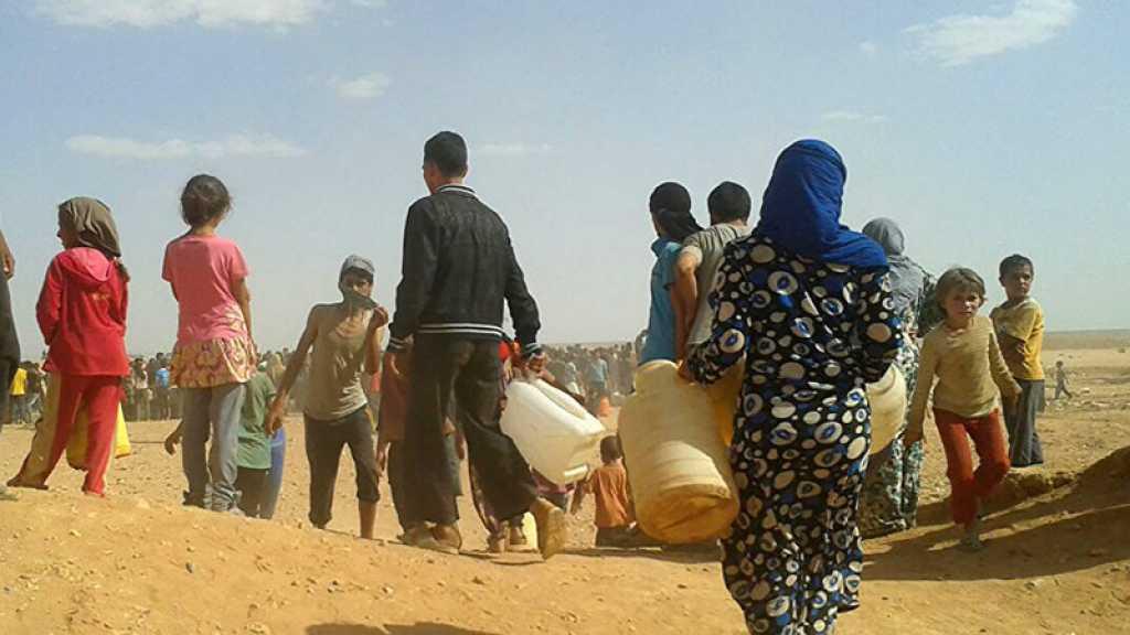 Syrie: Les réfugiés d'Al-Roukban retenus comme «boucliers humains» par des terroristes