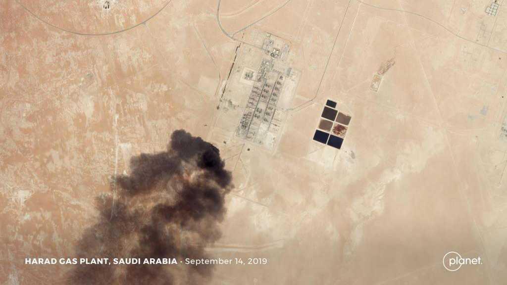 Washington se dit «prêt à riposter» aux attaques contre des installations saoudiennes