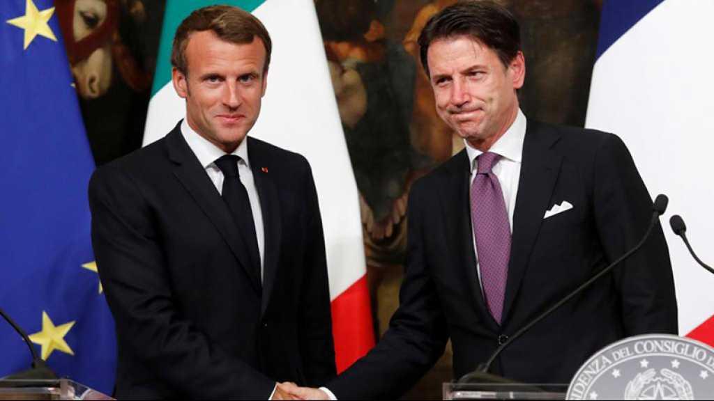 Conte et Macron d'accord pour une répartition européenne des migrants
