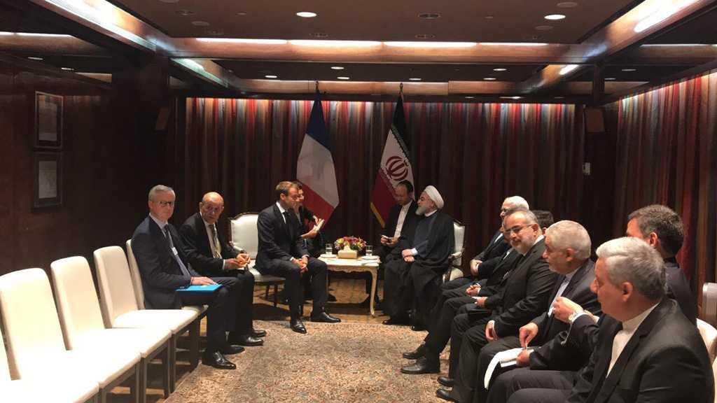 A New York, Macron et Rohani s'entretiennent en tête-à-tête