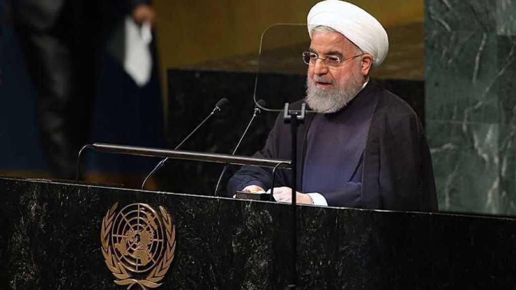 Rohani invite les pays de la région à rejoindre la «Coalition de l'espoir» pour assurer la sécurité dans le Golfe