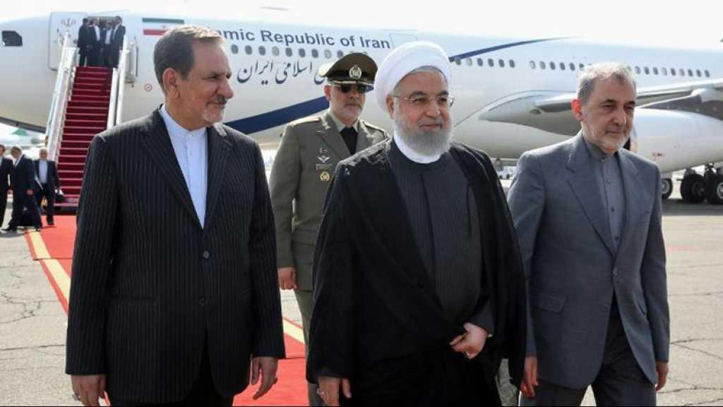 Washington a proposé de lever les sanctions contre l'Iran pour négocier, dit Rohani