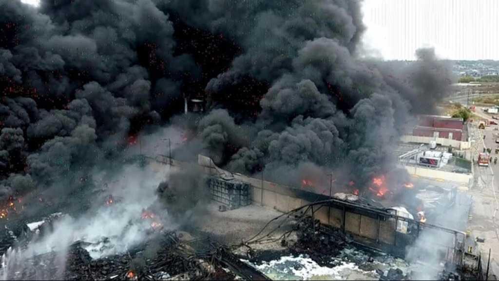 France: l'incendie de l'usine chimique de Rouen éteint, la ville polluée