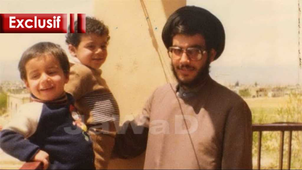 Ce que vous ignorez de sayed Nasrallah … un père attentionné, passionné de lecture