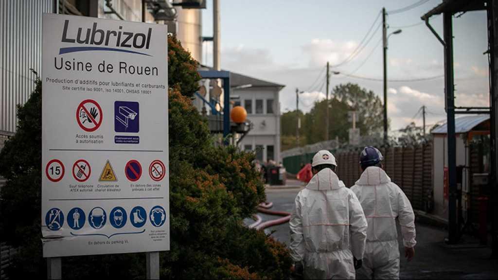 Incendie de l'usine chimique de Rouen: le gouvernement promet la transparence totale