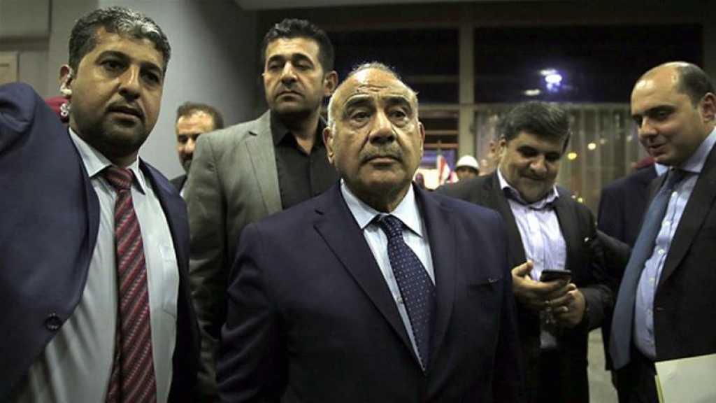 Attaques contre les Hachd al-Chaabi: Abdel Mahdi pointe du doigt «Israël»