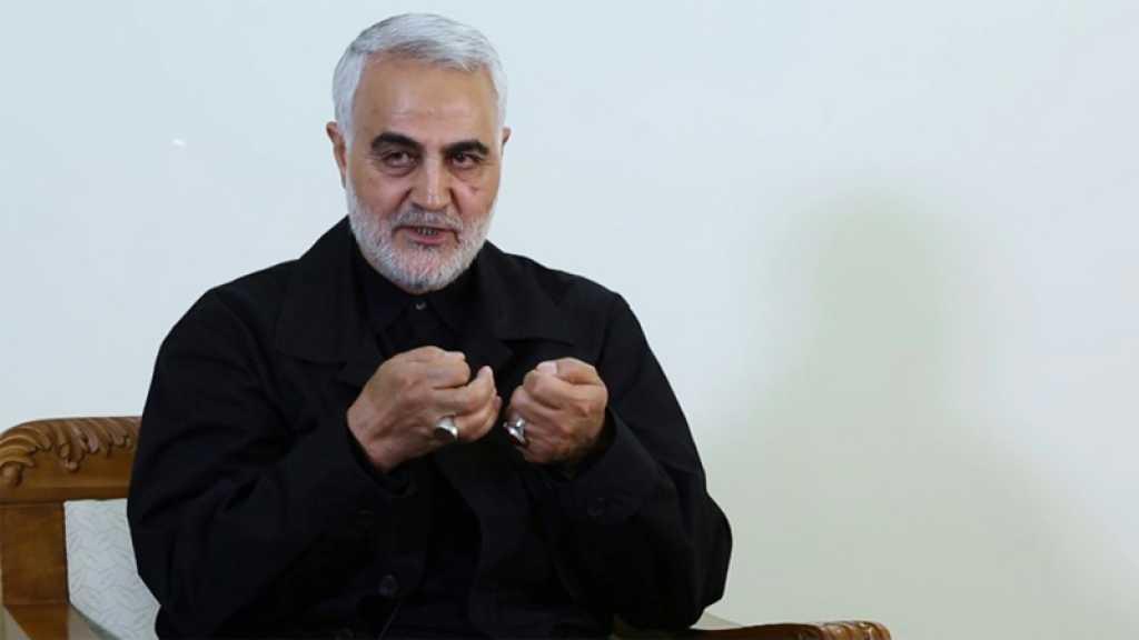 Le général Soleimani: la guerre des 33 jours a coûté à «Israël» sa dissuasion