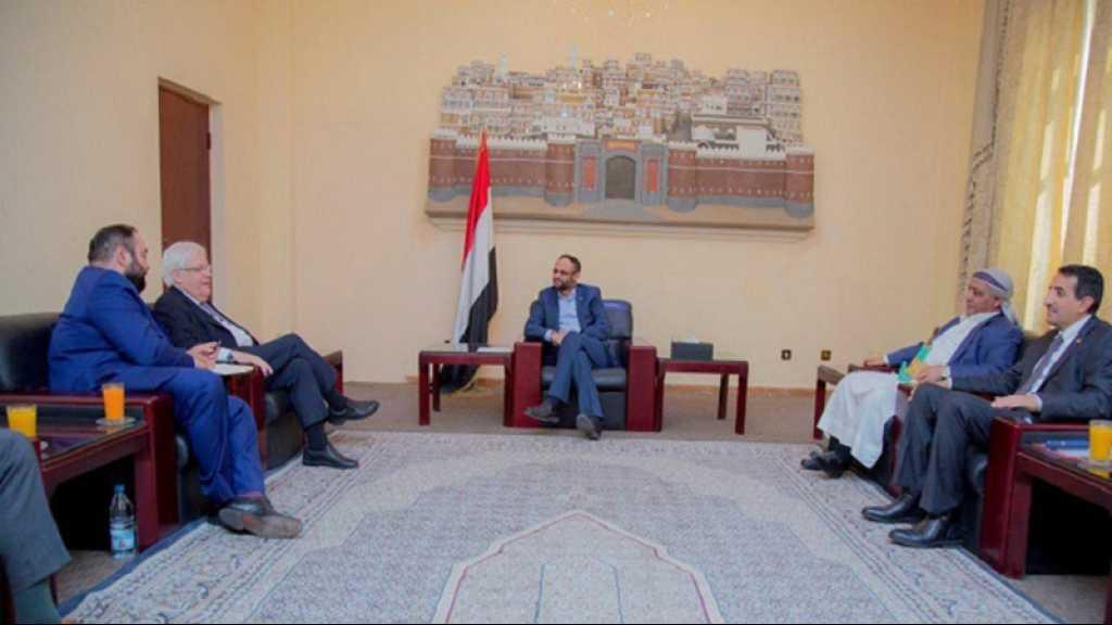 Yémen: entretien entre le chef d'Ansarullah et l'émissaire de l'ONU