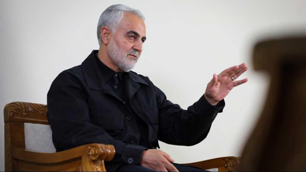Le CGRI affirme avoir déjoué une tentative arabo-israélienne d'élimination de général Soleimani