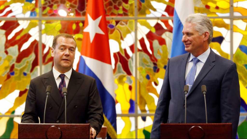 «Cuba pourra toujours compter sur la Russie», promet Medvedev à La Havane