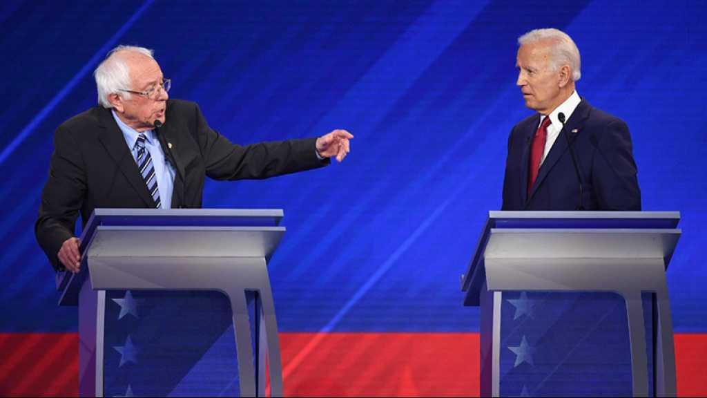 USA/Primaire démocrate: Biden récolte moins de fonds que Sanders