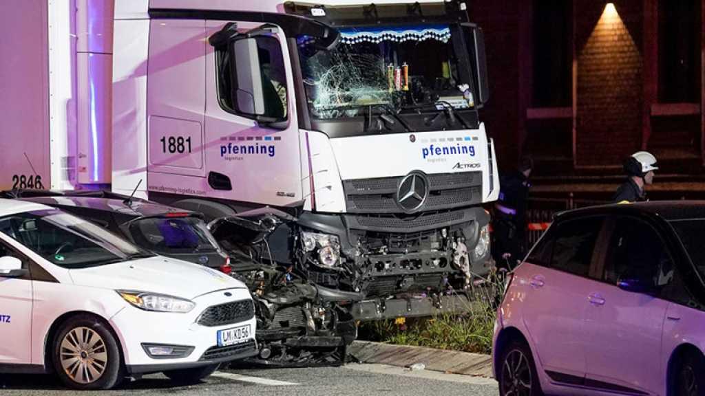 Attaque au camion en Allemagne: huit personnes blessées, l'assaillant arrêté