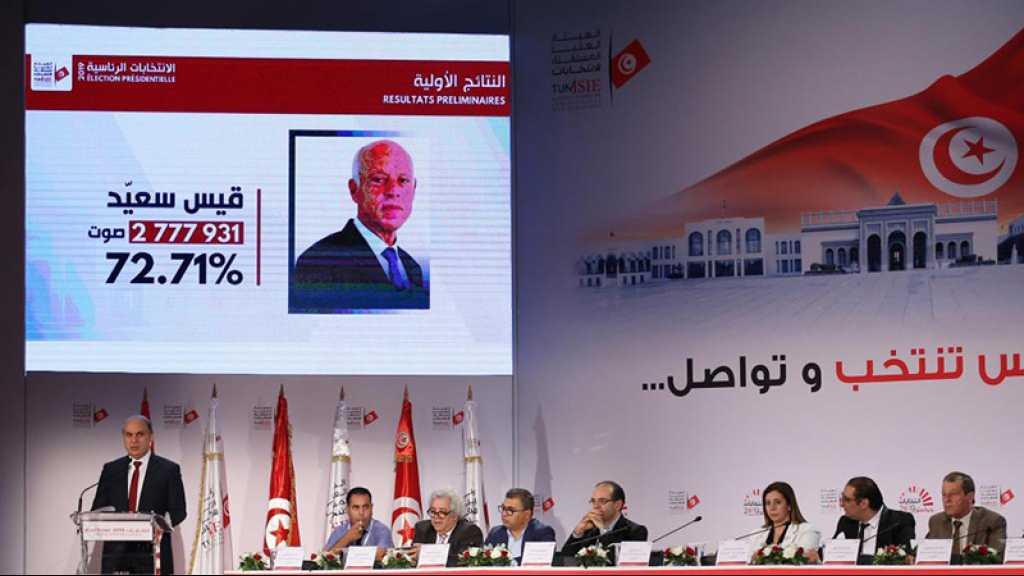 Tunisie: Kais Saied élu président avec 72,71% des voix, selon les résultats officiels