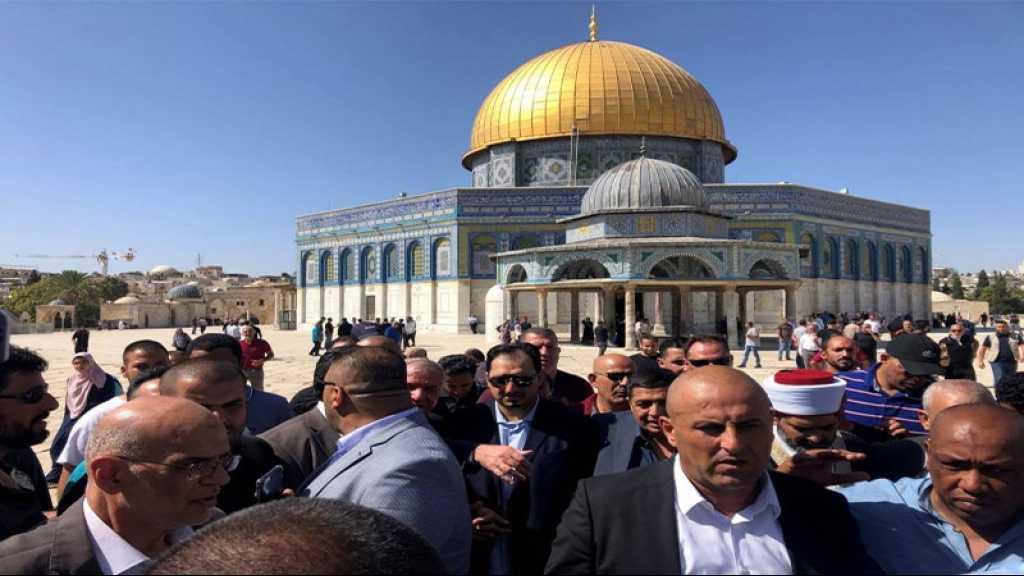 Une délégation saoudienne visite l'esplanade des Mosquées