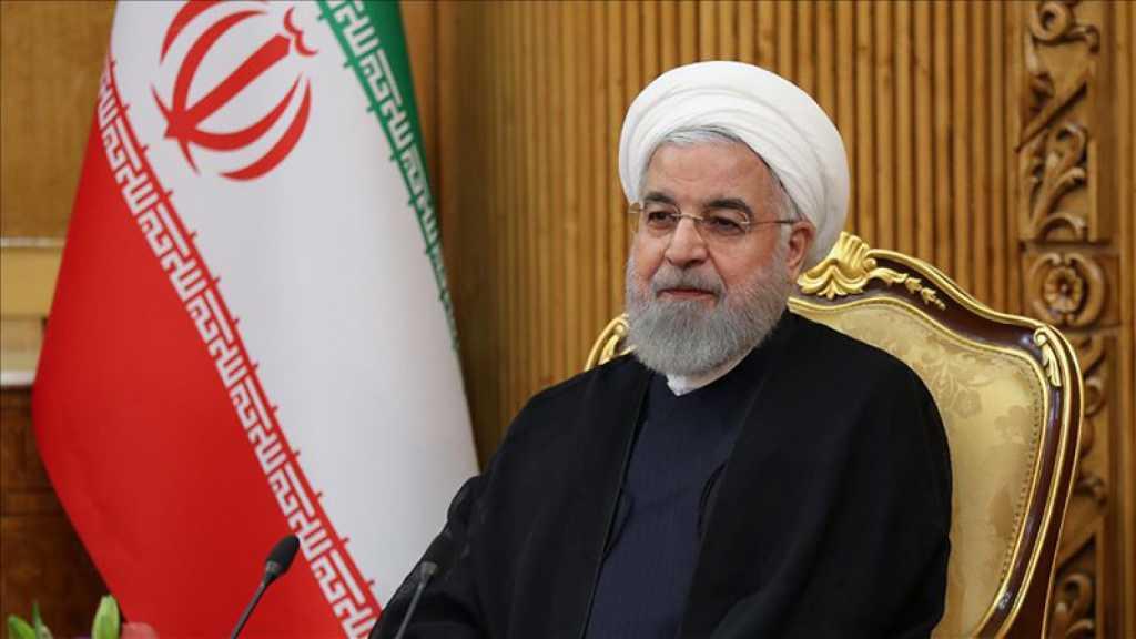 Rohani: L'Iran a surmonté la crise dans les domaines politique et économique