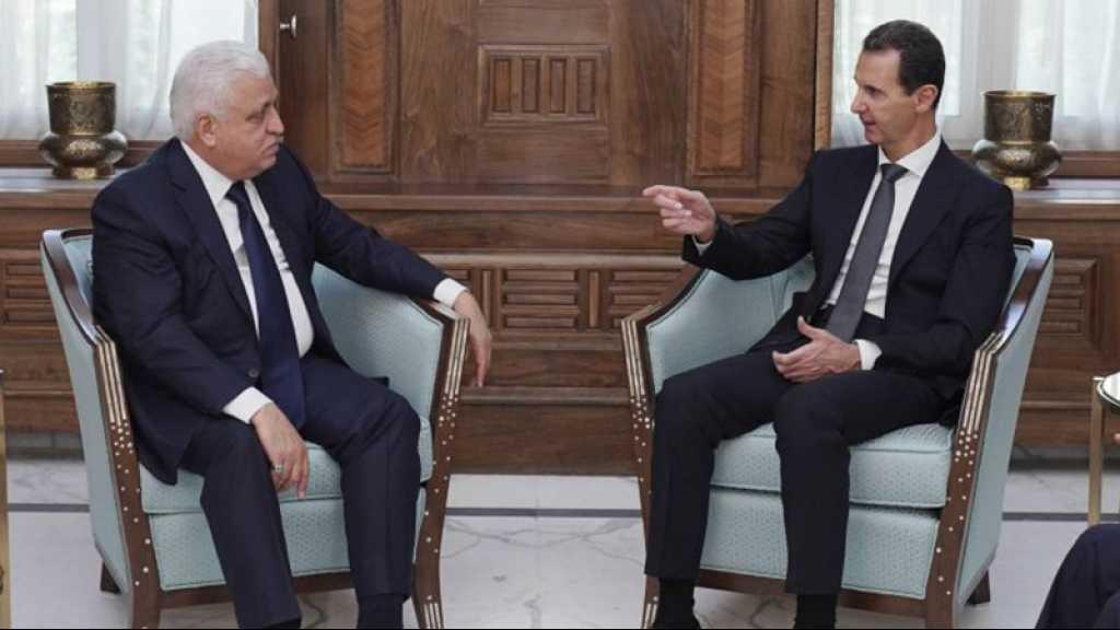 Offensive turque en Syrie: le chef des Hachd irakien chez le président Assad
