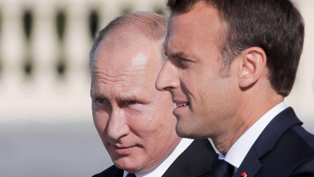 Poutine informe Macron des actions russes censées stabiliser la situation en Syrie