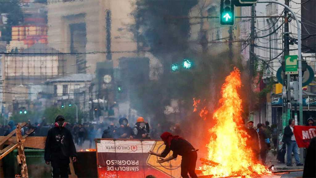 Un élu chilien prend l'exemple de la France pour justifier l'usage de la force
