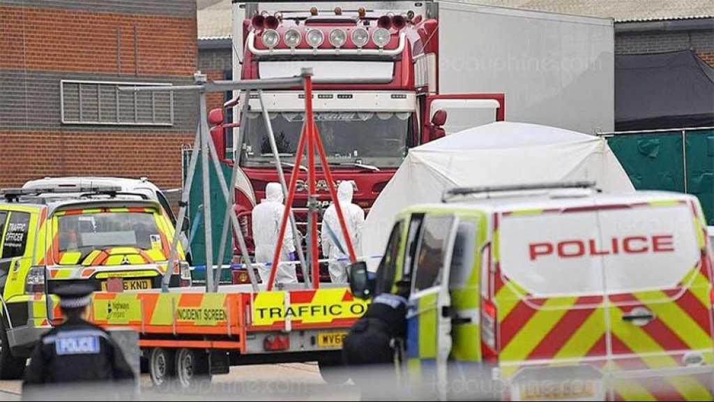 GB: les 39 morts retrouvés dans un camion étaient Chinois