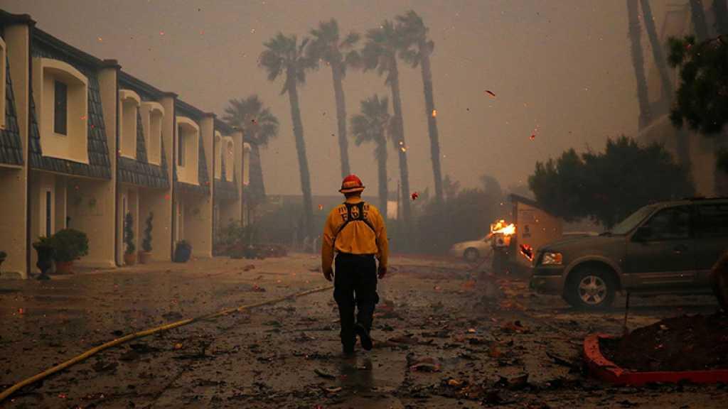 Incendies en Californie: quelque 50.000 personnes évacuées