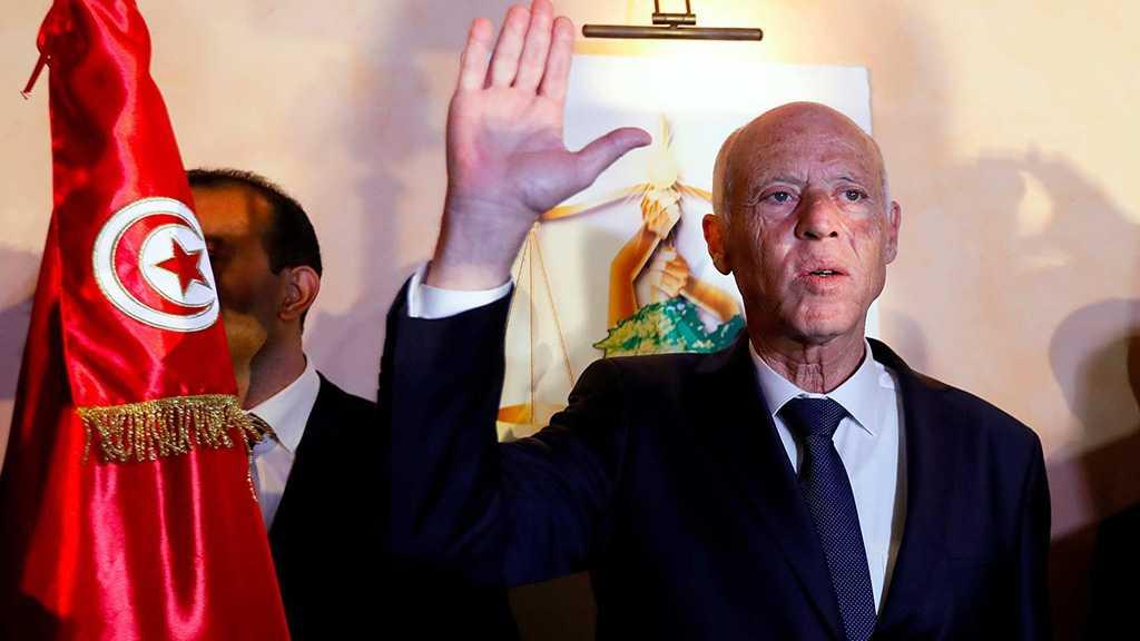 «La Palestine est gravée dans le cœur des Tunisiens», affirme le nouveau président élu