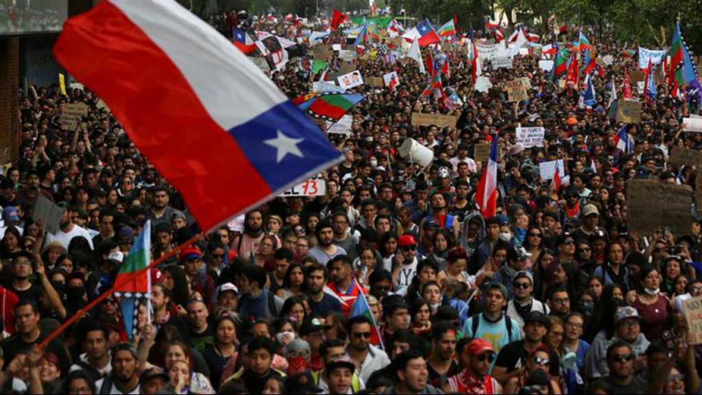 Chili: plus d'un million de manifestants contre le gouvernement