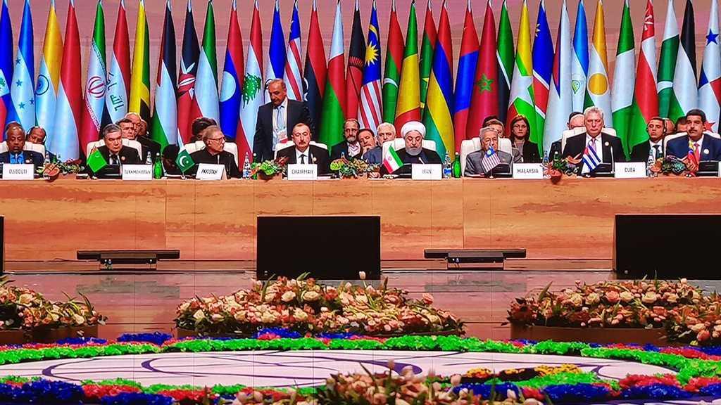 Rohani: le Mouvement des non-alignés a montré sa détermination à résister à l'unilatéralisme US