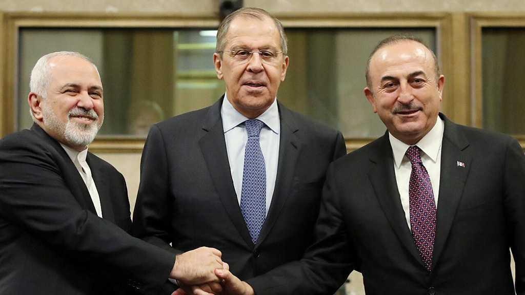 Téhéran, Moscou et Ankara réaffirment leur soutien à l'intégrité territoriale de la Syrie
