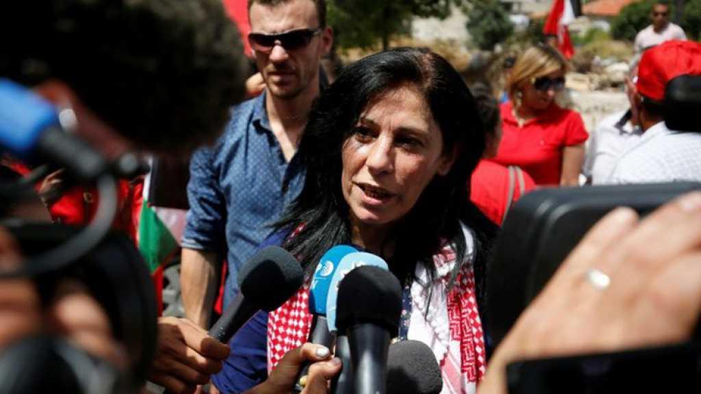 La députée palestinienne Khalida Jarrar à nouveau arrêtée par «Israël»