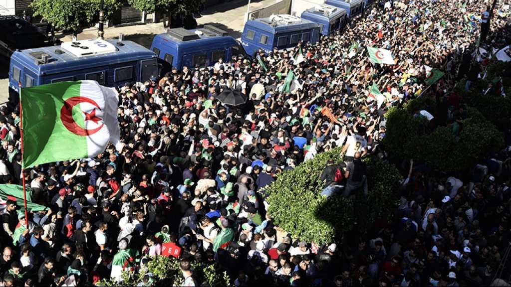 Algérie: marée humaine contre le régime et la présidentielle