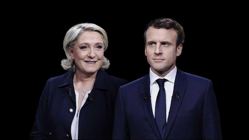 Macron et Le Pen au coude à coude pour la présidentielle de 2022