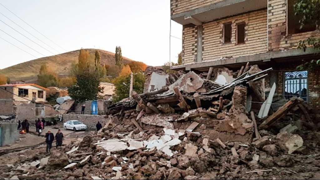Un séisme en Iran fait cinq morts et plus de 300 blessés