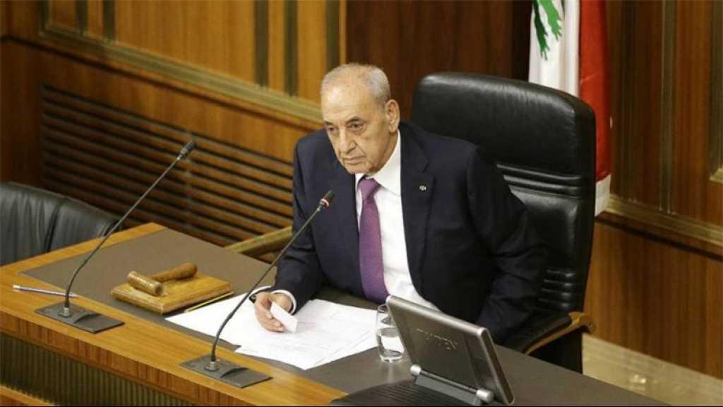Liban: Berry annonce le report de la séance parlementaire prévue le 19 novembre