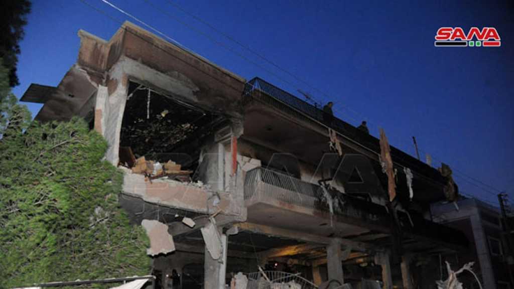 Deux martyrs dans une agression israélienne contre le domicile d'un dirigeant du Djihad islamique à Damas