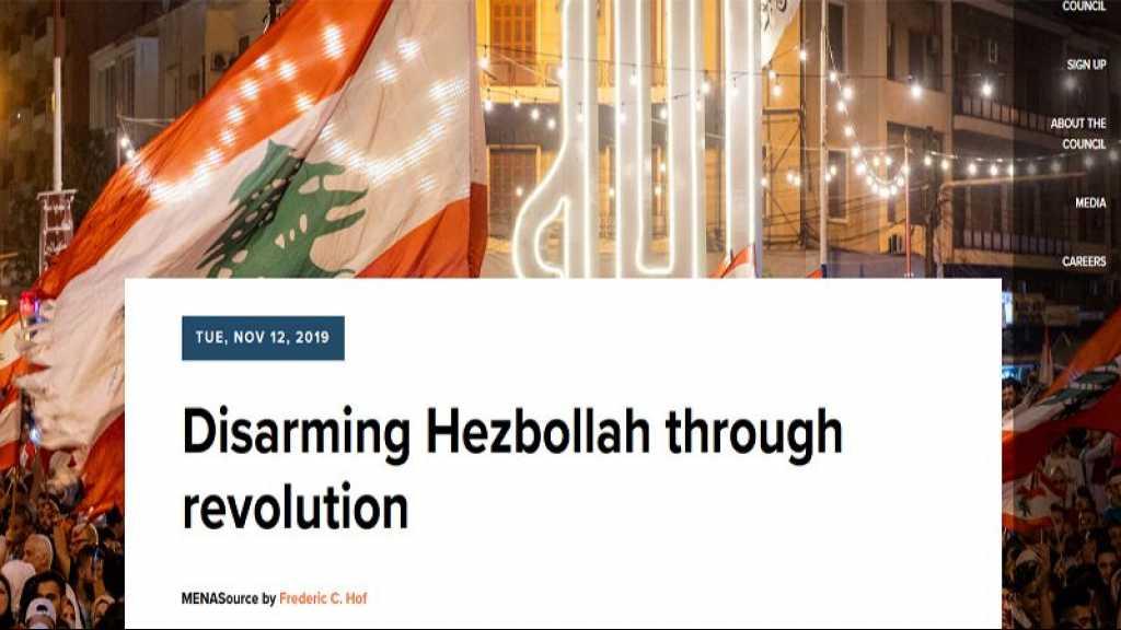 «Désarmer le Hezbollah à travers la révolution»