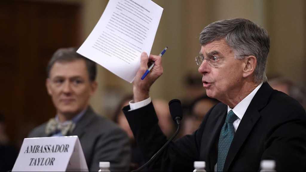 Destitution: un témoin clé renforce l'accusation contre Trump lors d'une audition historique