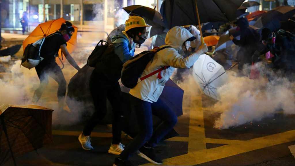 Hong Kong: le siège du campus persiste, passe d'armes Chine-USA en vue