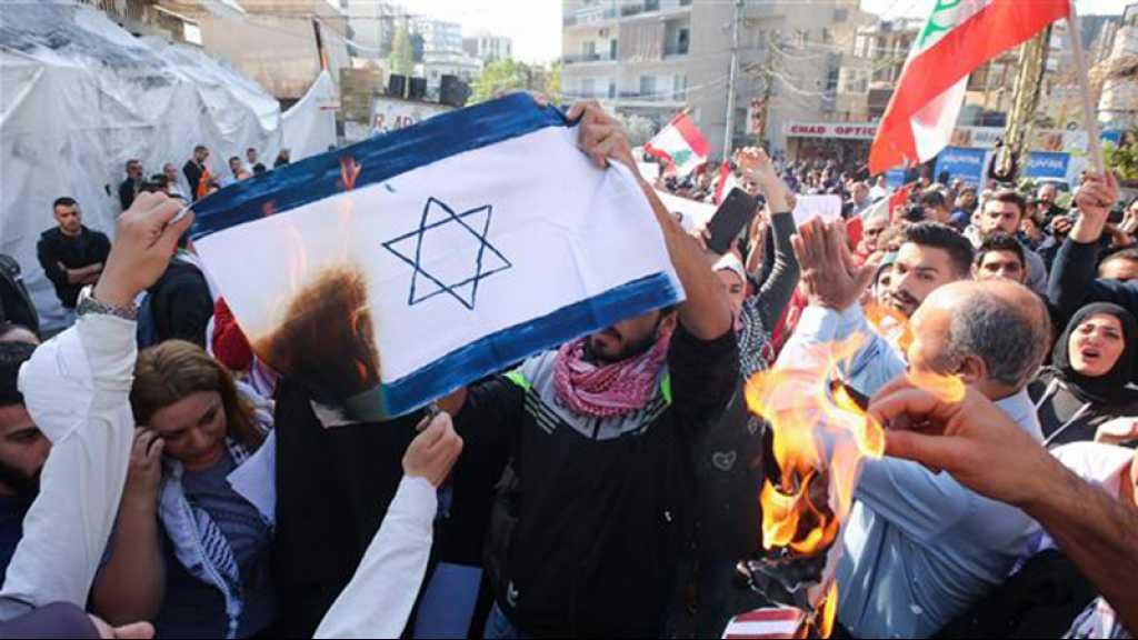 Liban: manifestations contre l'ingérence américaine, «Révolution contre les USA»