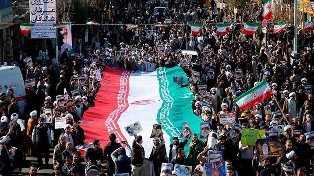 Emeutes au Iran: manifestations monstres en soutien au pouvoir, «Non au complot des ennemis»