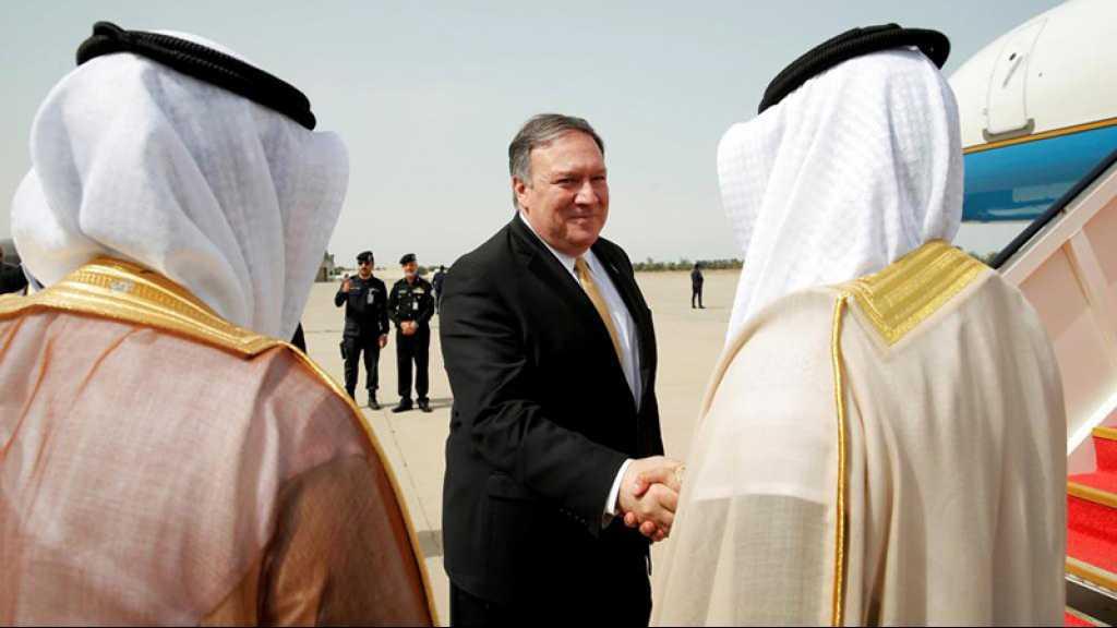 Pompeo exhorte les pays arabes à mettre fin au boycott contre «Israël»