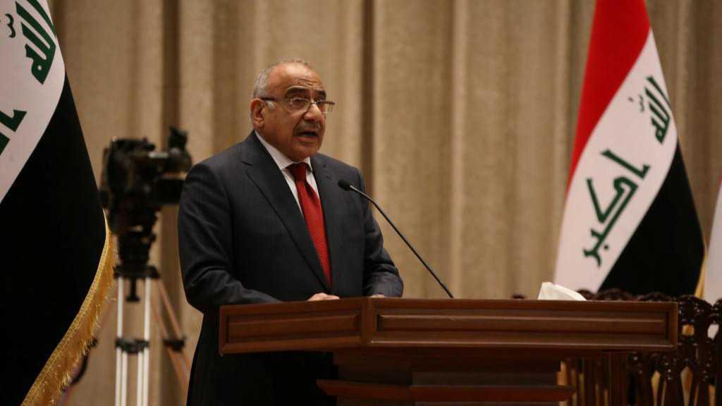 Irak: le Parlement accepte la démission du gouvernement d'Abdel Mahdi