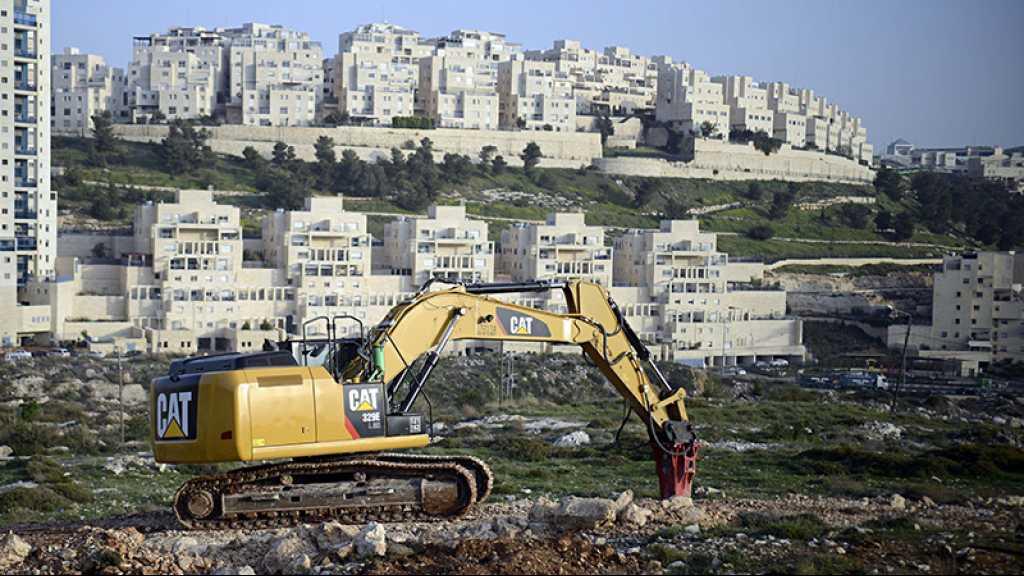 Après la décision US, «Israël» prévoit une nouvelle colonie en Cisjordanie occupée