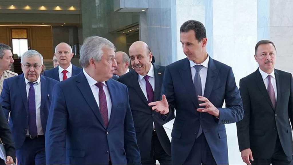 Syrie: Assad évoque la situation à Idlib avec une délégation russe