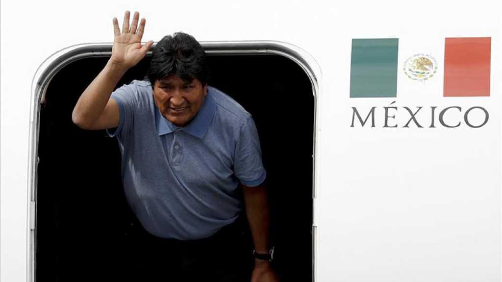 Evo Morales a quitté le Mexique vers le Cuba