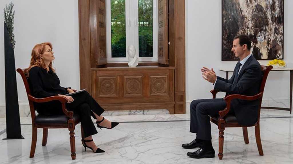 La TV publique italienne s'abstient de diffuser une interview d'Assad: «L'Europe était un acteur principal dans la provocation de chaos en Syrie»
