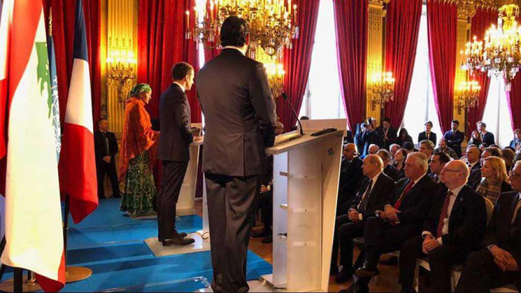 Une «réunion de travail» internationale consacrée au Liban se tiendra mercredi à Paris