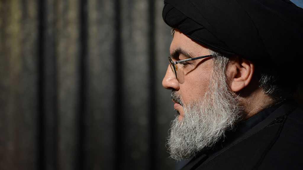 Discours du secrétaire général du Hezbollah sayed Hassan Nasrallah vendredi à 17h30 (heure locale)